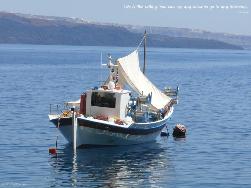 Is Your Dream to Travel by Yacht like Beyonce? Caldera Greece on a boat