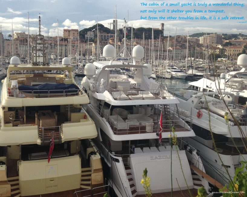 Is Your Dream to Travel by Yacht like Beyonce? Cannes on a yacht