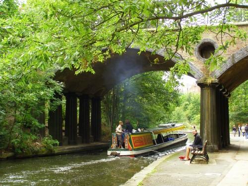 Travel Dream Destinations London: Walking the Regent's Canal