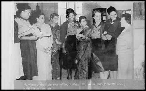 A Dream to See the End to Violence Against Women - South African federation protesting against Apartheid in 1955