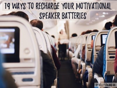 Are You An Exhausted Motivational Speaker? Recharge Your Batteries