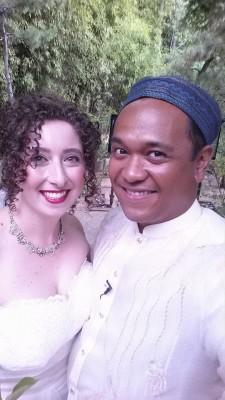 wedding selfie Krieger-Joven