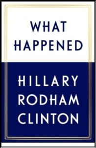 Book: What Happened By Hillary Rodham Clinton