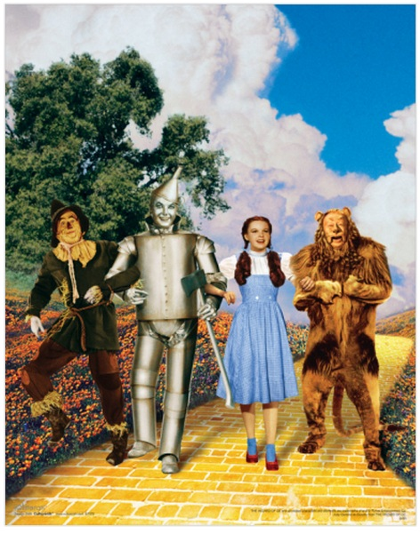 Find the Courage to Live Your Dream: Th Wizard of Oz - Buy at Art.com