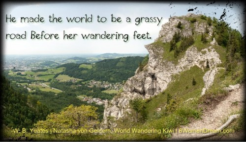 Travel Saturday: Share Your World Wandering Images - Yeates Quote